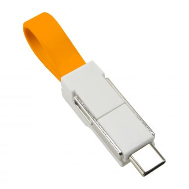 3 in 1 Charging Cable Orange 380x380