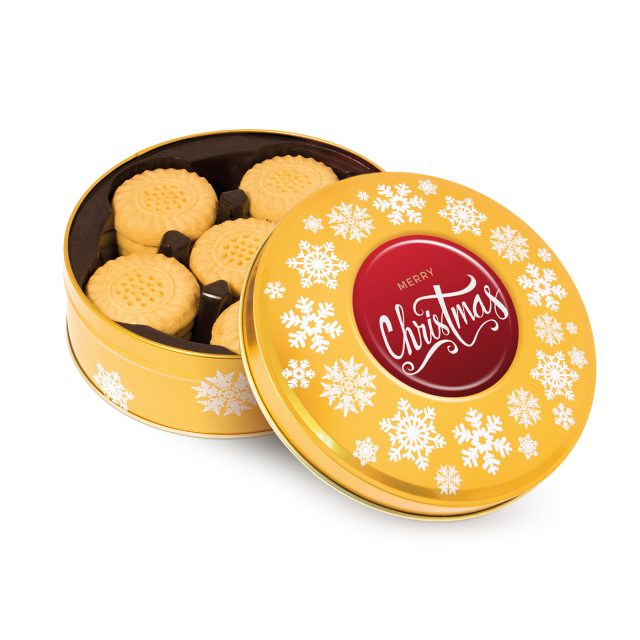 Gold Share Tin   Shortbread Biscuits 640x640