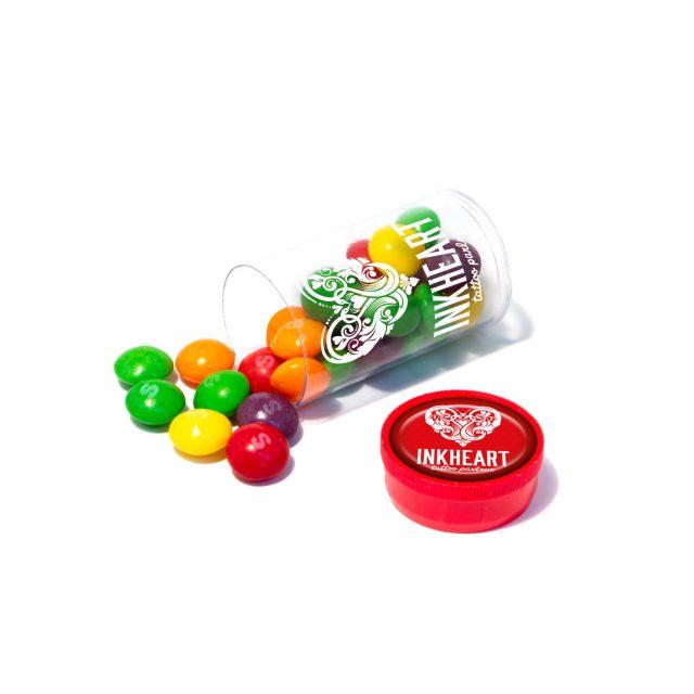 Clear Tube Mini Skittles 640x640