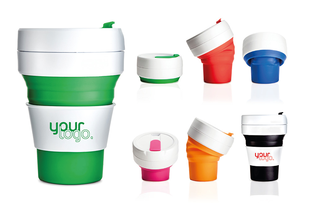 NEW stojo the collapsible coffee cup