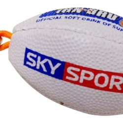 0000901 rugby ball keyring