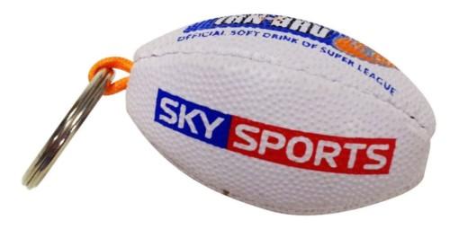 0000901 rugby ball keyring