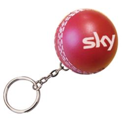 s0295a 22 cricket ball keyring v1
