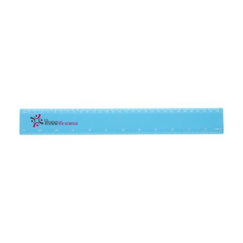 30cm plastic ruler 1
