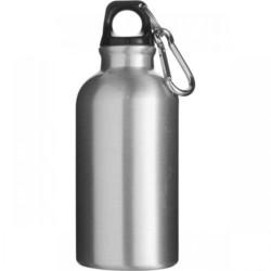 aluminium water bottle silver 750x750