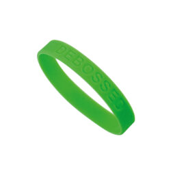 19016DEB DebossedWristbands