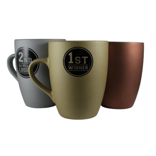 12158MAR Marrow Medal Mugs