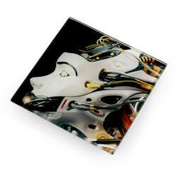 11043 Sublimation Glass Coaster